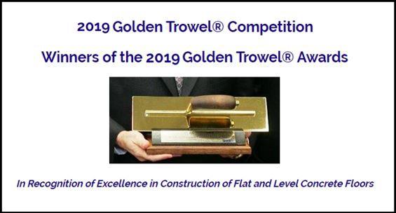 Alphapiso Ganha pela 5ª Vez o Prêmio Golden Trowel - 2019 (Desempenadeira de Ouro)