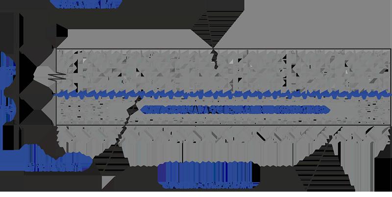 Estrutura do piso de concreto com fibra metálica.